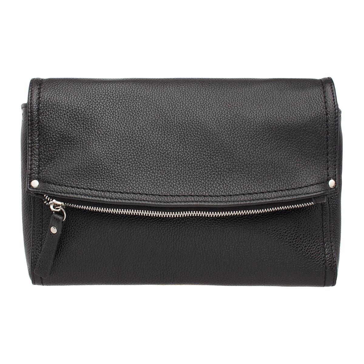 Купить Женская кожаная сумка кросс-боди Ripley Black