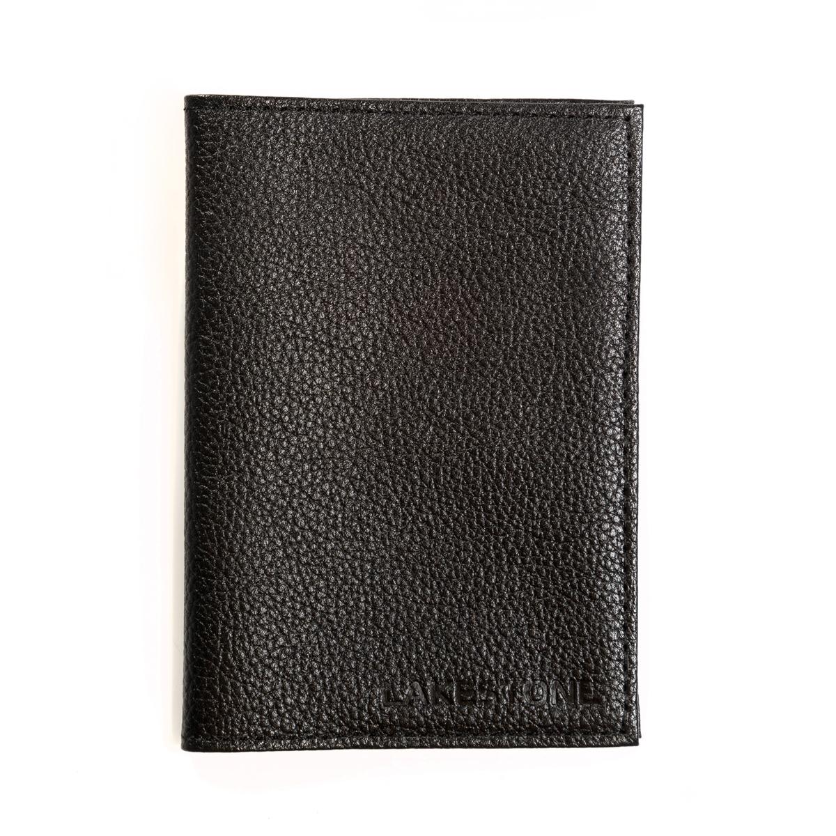 Обложка для паспорта Ripon Black фото