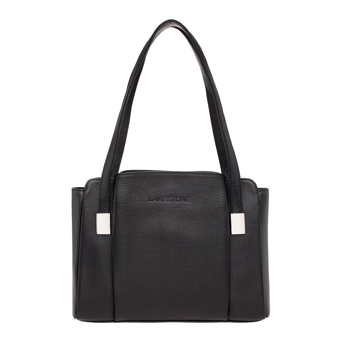 Кожаная женская сумка Tara Black фото