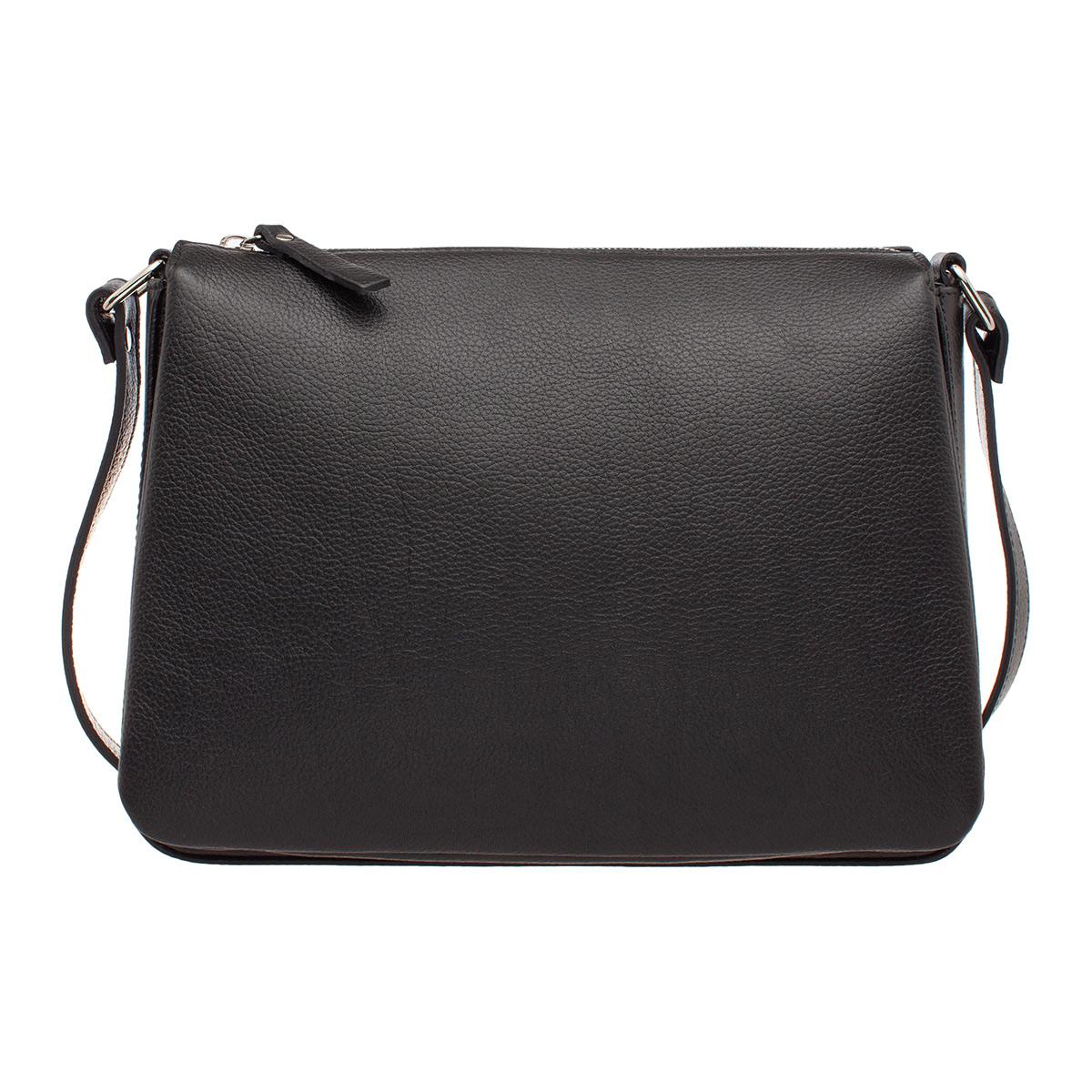 Кожаная сумка через плечо Taylor Black фото