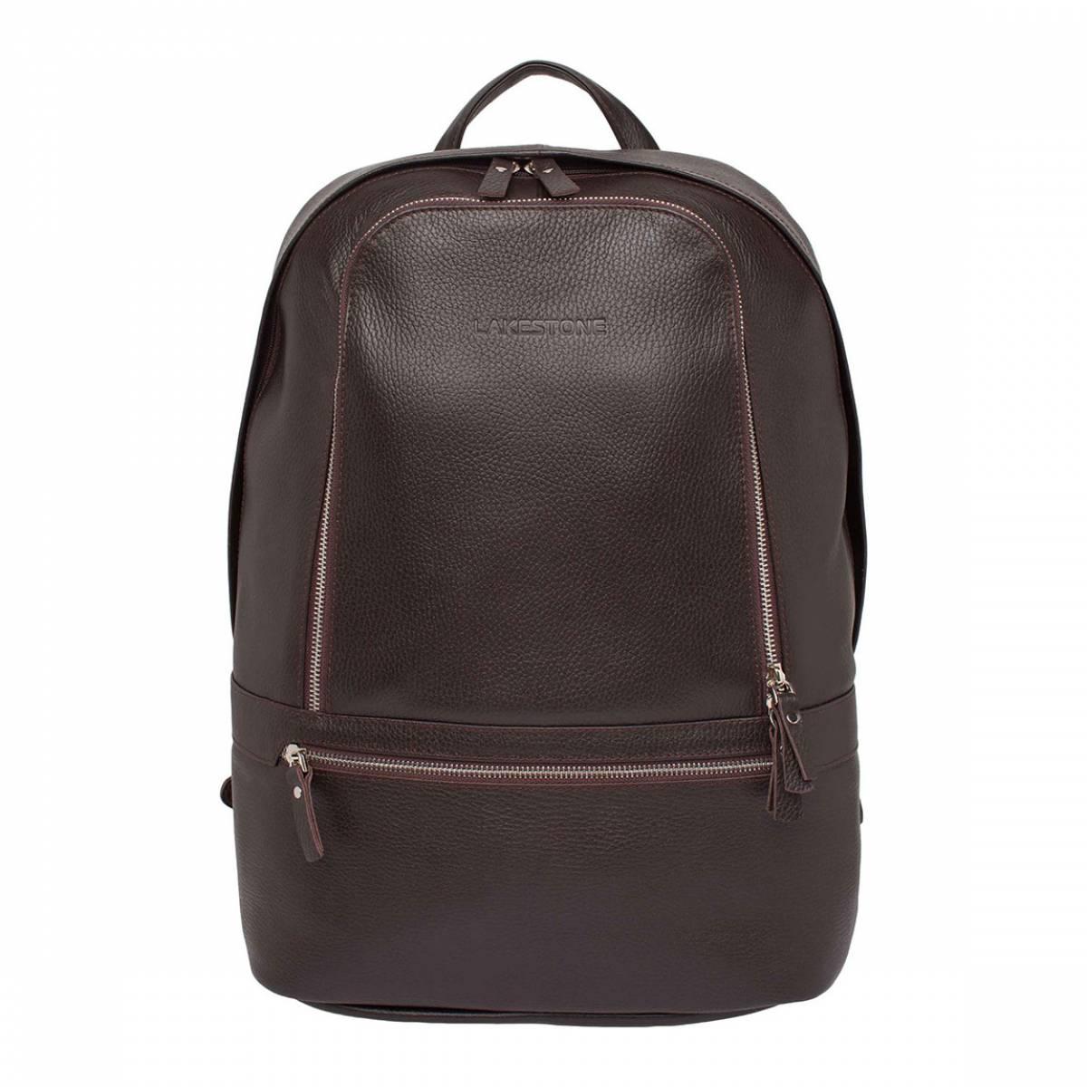 Кожаный мужской рюкзак для ноутбука Timber Brown