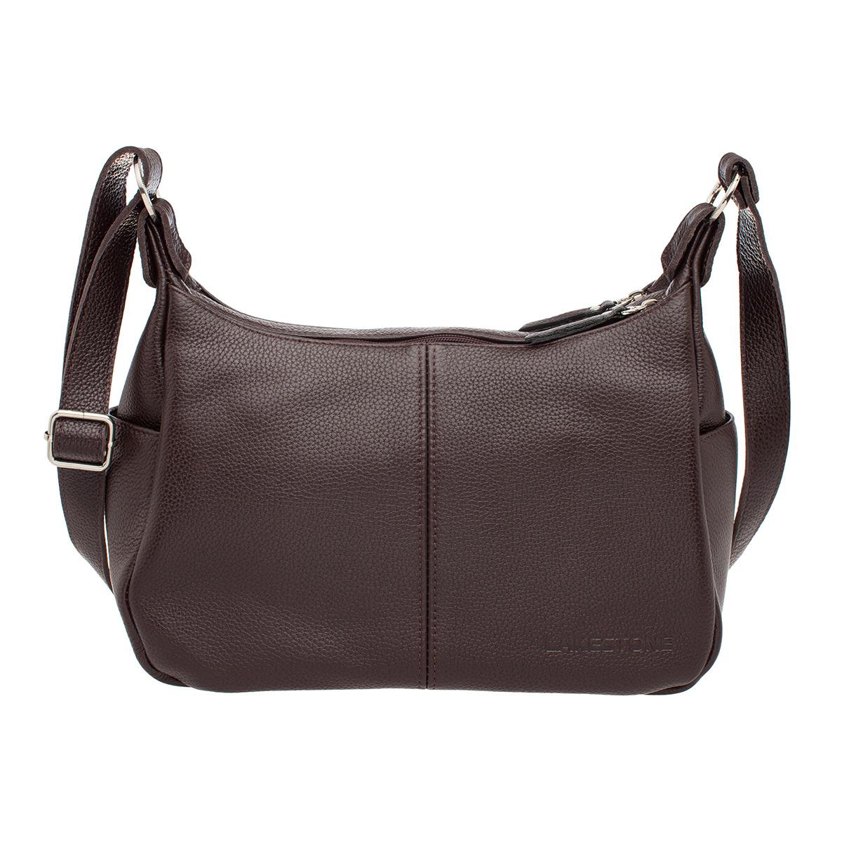 Кожаная сумка через плечо Tracey Brown фото