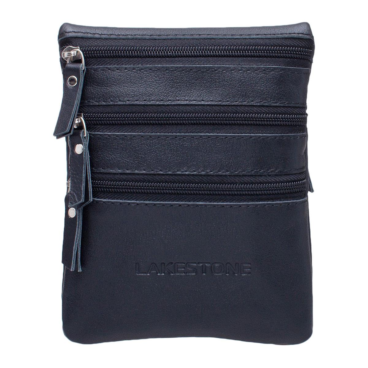 Небольшая мужская сумка через плечо Wesley Black