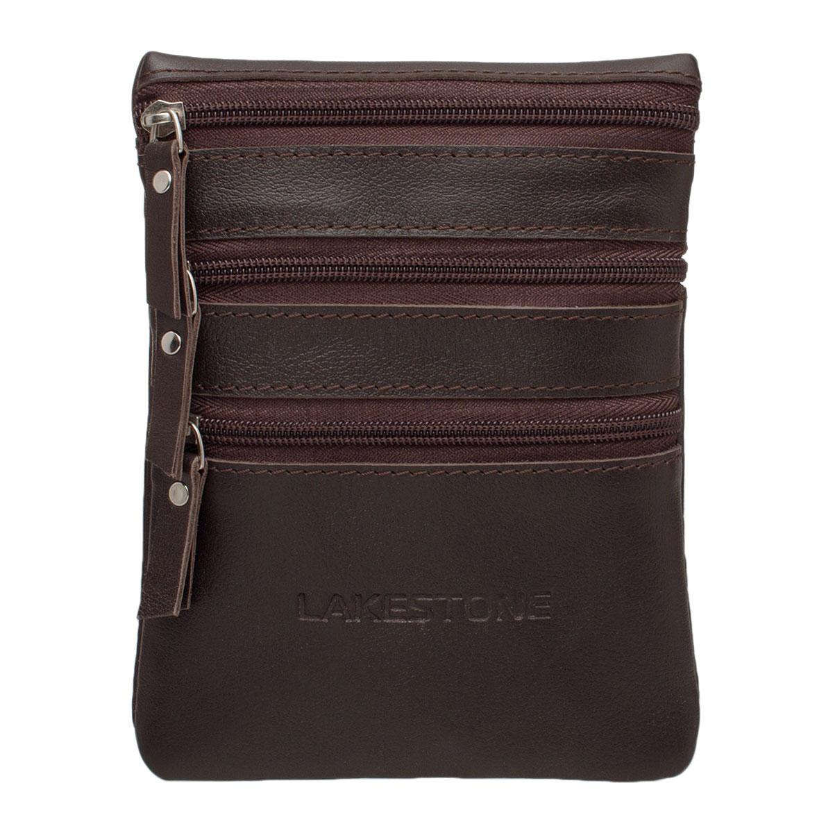 Небольшая мужская сумка через плечо Wesley Brown фото